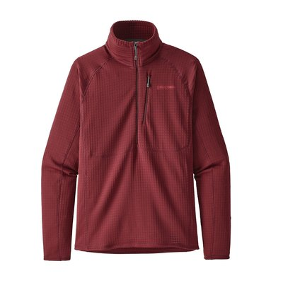 Patagonia Patagonia M's R1 Pullover Oxide Red