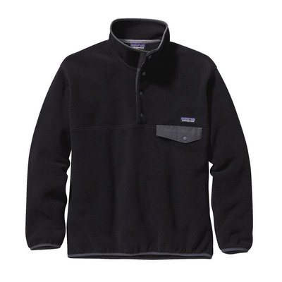 Patagonia Patagonia M's Synch Snap-T Pullover Black