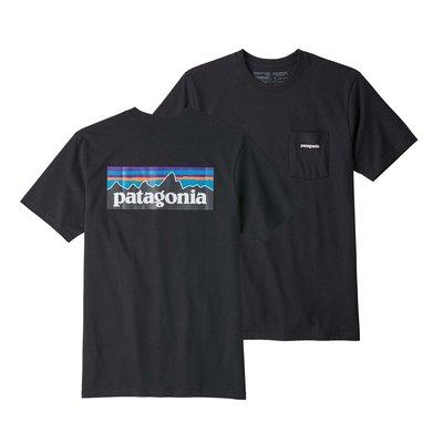 Patagonia Patagonia P-6 Logo Pocket Responsibili-Tee Black