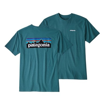 Patagonia Patagonia P-6 Logo Responsibili-Tee Tasmanian Teal