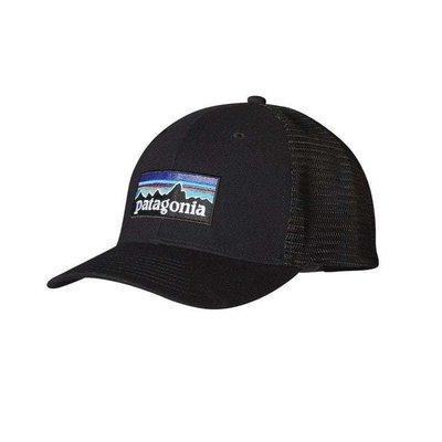 Patagonia Patagonia P-6 Logo Trucker Hat Black