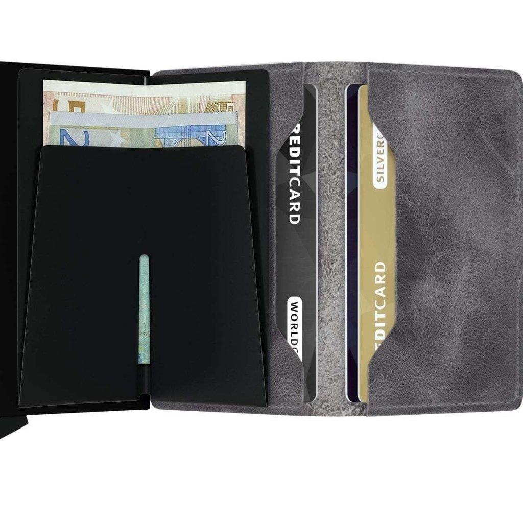 Secrid Secrid Miniwallet Vintage Grey Black