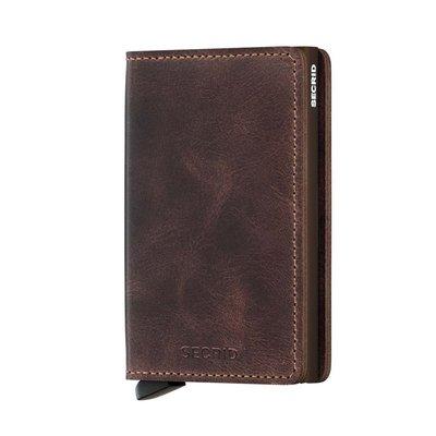 Secrid Secrid Slim Wallet Vintage Chocolate