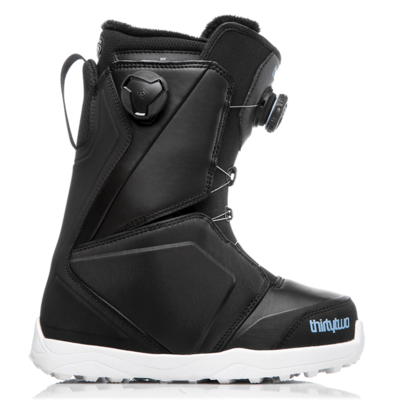 Thirtytwo Thirtytwo Womens Lashed Double Boa 2019 Black / Blue / White