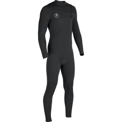 Vissla Vissla Seven Seas 3-2 Full Chest Zip Black Jade