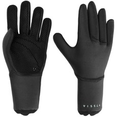 Vissla Vissla Seven Seas 5 Finger Glove 3mm Black
