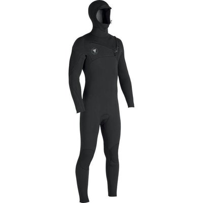 Vissla Vissla Seven Seas 5-4-3 Hood Chest Zip Wetsuit Black