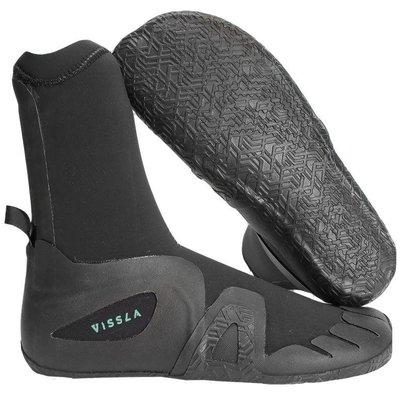 Vissla Vissla Seven Seas 5mm Round Toe Bootie Black