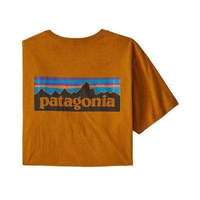 Patagonia Patagonia P-6 Logo Organic T-shirt Hammonds Gold