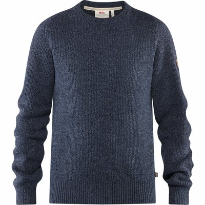 Fjallraven Fjallraven Greenland Re-Wool Crew Neck Dark Navy