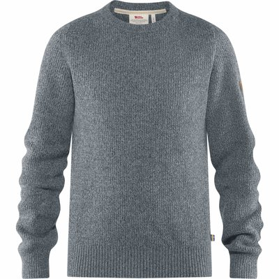 Fjallraven Fjallraven Greenland Re-Wool Crew Neck Thunder Grey