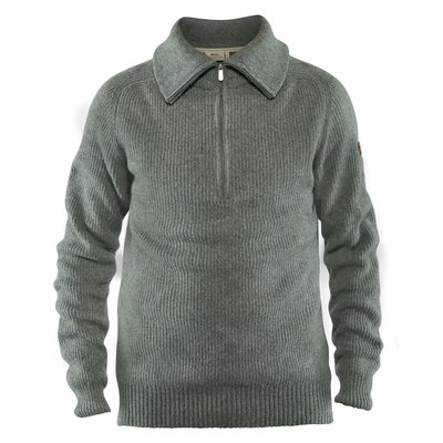 Fjallraven Fjallraven Greenland Re-Wool Sweater Thunder Grey