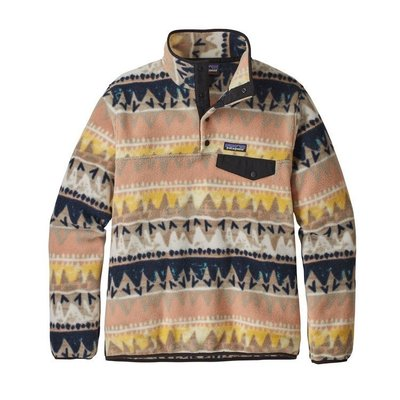 Patagonia Patagonia W's LW Synch Snap-T P/O Bandicoot Marrow Grey