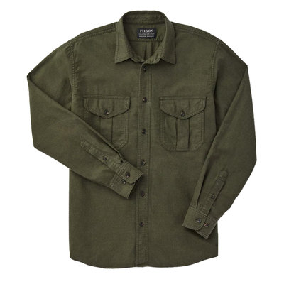Filson Filson Light Weight Alaskan Guide Shirt Dark Olive Heather