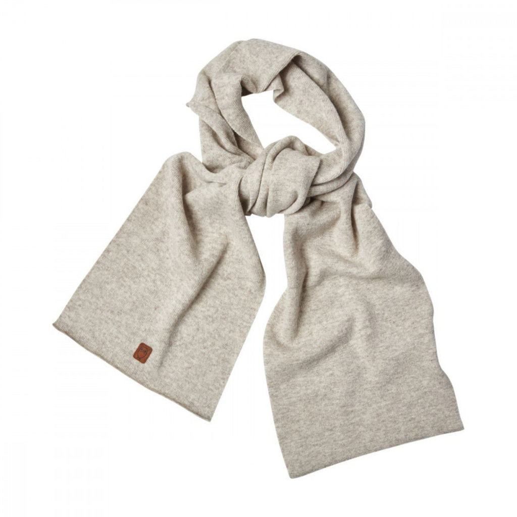 KnowledgeCotton Apparel Knowledge Cotton Apparel Scarf Organic Wool Nature Melange