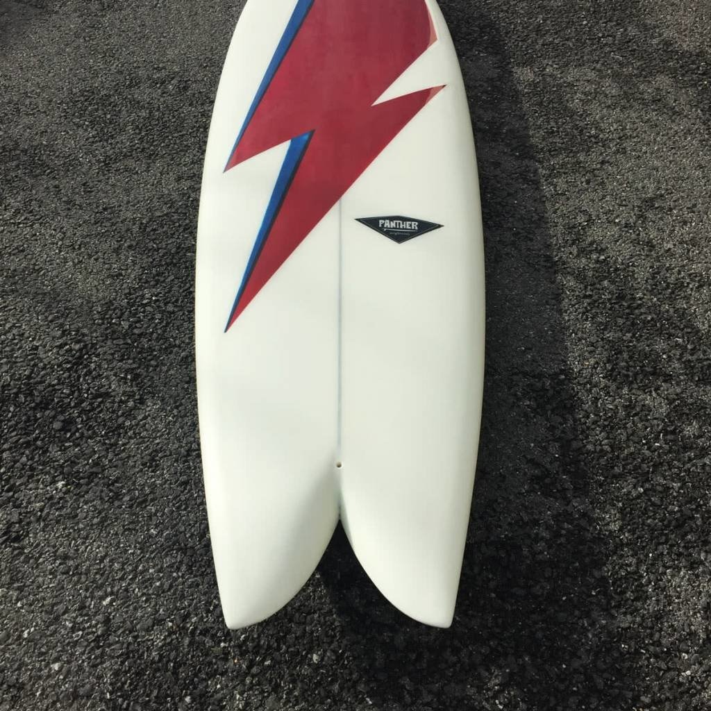 Panther Surfboards Single 70's Fish 6'8