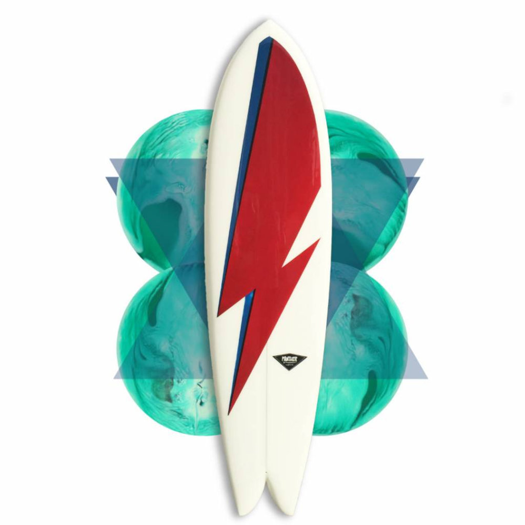 Panther Surfboards Panther Surfboards Single 70's Fish 6'8