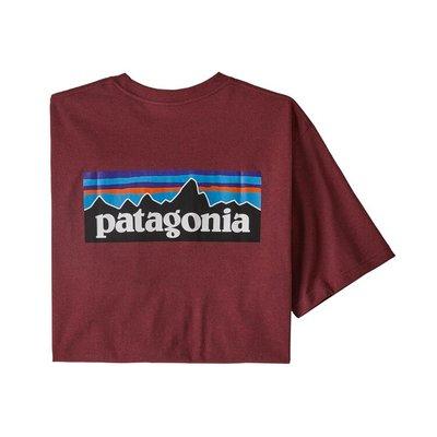 Patagonia Patagonia P-6 Logo Pocket Responsibili-Tee Oxide red