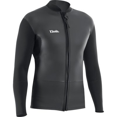 Vissla Vissla 2MM Frontzip Jacket Black