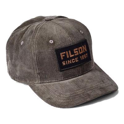 Filson Filson All Cord Lodger Cap Otter Green