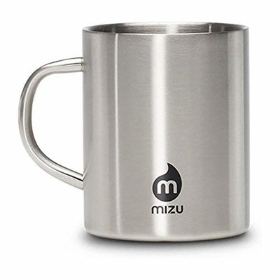 Mizu Mizu Camp Cup Stainless Black