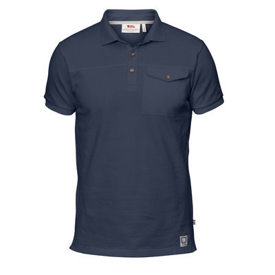 Fjallraven Fjallraven Greenland Polo Shirt Dark Navy