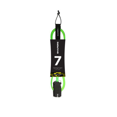 Shapers Shapers 7ft Regular Leash Green