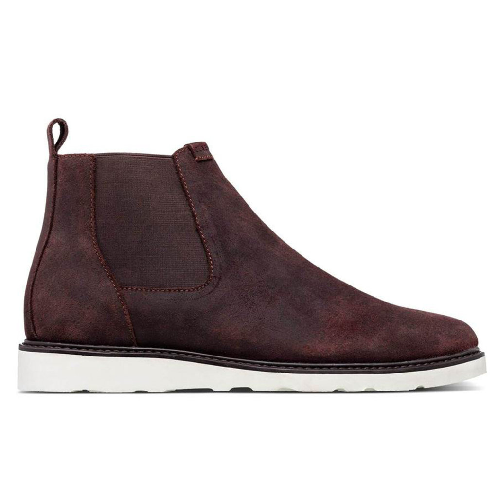 Clae Clae Richards Vibram Umber Waxed Suede