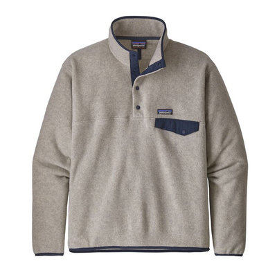 Patagonia Patagonia Mens Lightweight Synch Snap-T Pullover EU Fit Oatmeal