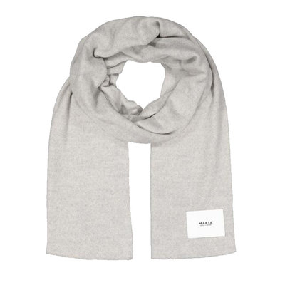 Makia Makia Logical Scarf Light Grey
