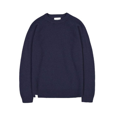 Makia Makia Nordic Knit Dark Navy