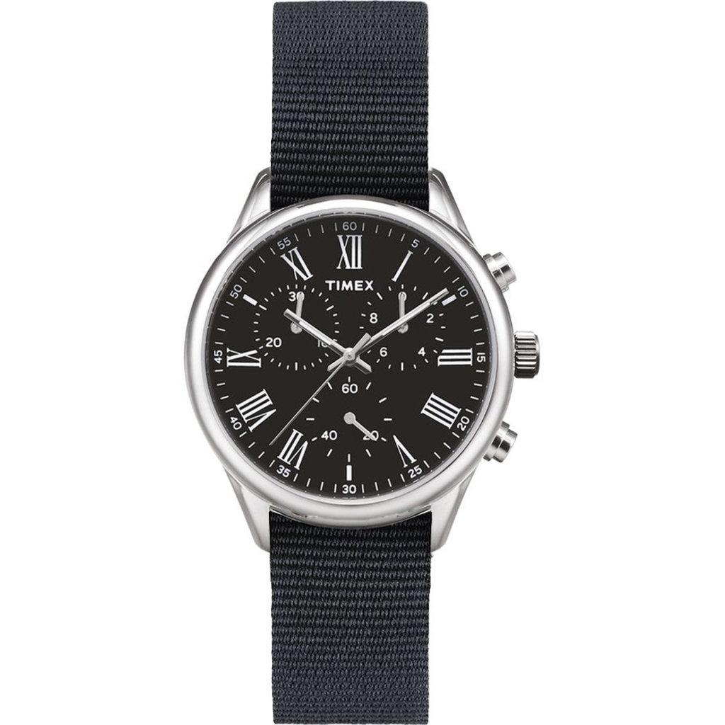 Timex Timex Weston Avenue 38mm Black/Silver