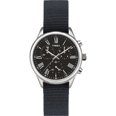 Timex Timex Weston Avenue 38mm Black/Silver