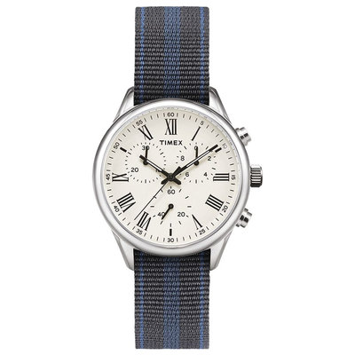 Timex Timex Weston Avenue 38mm  Creme/Silver