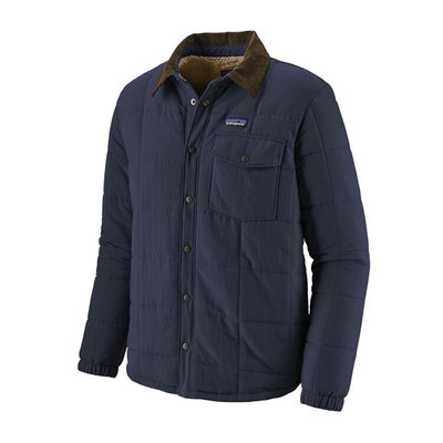 Patagonia Patagonia Mens Isthmus Quilted Shirt Jacket New Navy