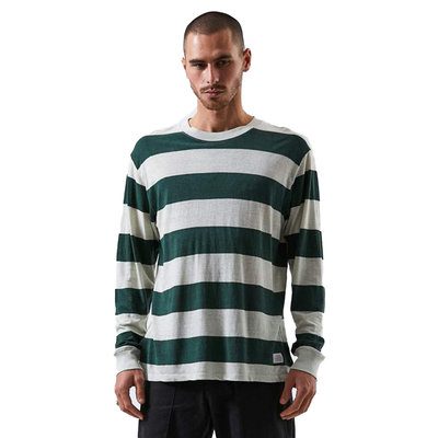 Afends Afends Team Dendy Hemp Retro Fit Long Sleeve Tee Pine