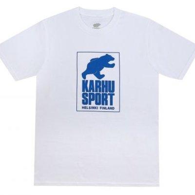 Karhu Karhu Helsinki Sport T-shirt White / Royal