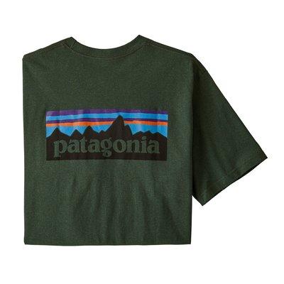 Patagonia Patagonia P-6 Logo Pocket Responsibili-Tee Alder Green