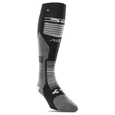 Thirtytwo Thirtytwo ASI Merino Vapor Snowboard Sock Black / White