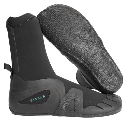 Vissla Vissla 7 Seas 7mm Round Toe Bootie Black