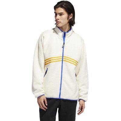 adidas adidas Sherpa Full Zip White/Orange/Blue