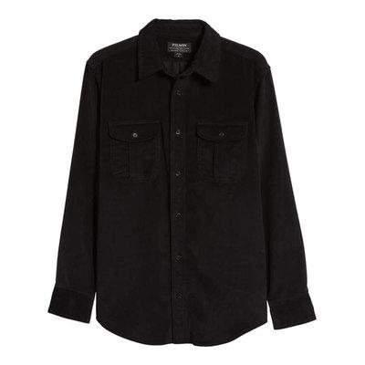 Filson Filson 11 Wale Cordudroy Shirt Black