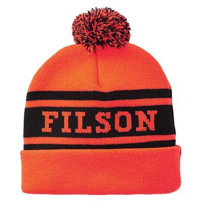 Filson Filson Acrylic Logo Beanie Blaze Orange