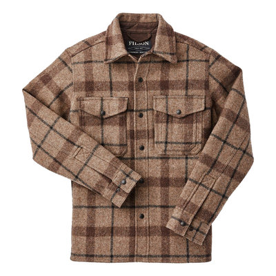 Filson Filson Mackinaw Jac Shirt Taupe / Brown / Black Plaid