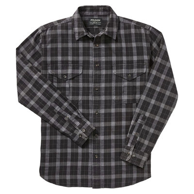Filson Filson Alaskan Guide Shirt Heather Grey / Black Plaid