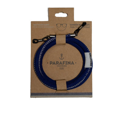 Parafina Parafina Recycled Sunglasses cord Blue