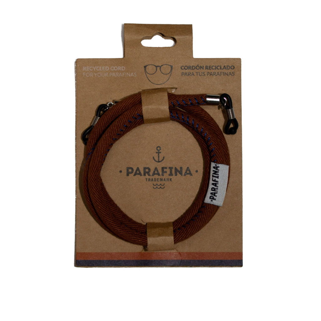 Parafina Parafina Recycled Sunglasses cord Brown