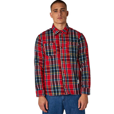 Kings of Indigo Kings Of Indigo Juntoku Red Flannel Check