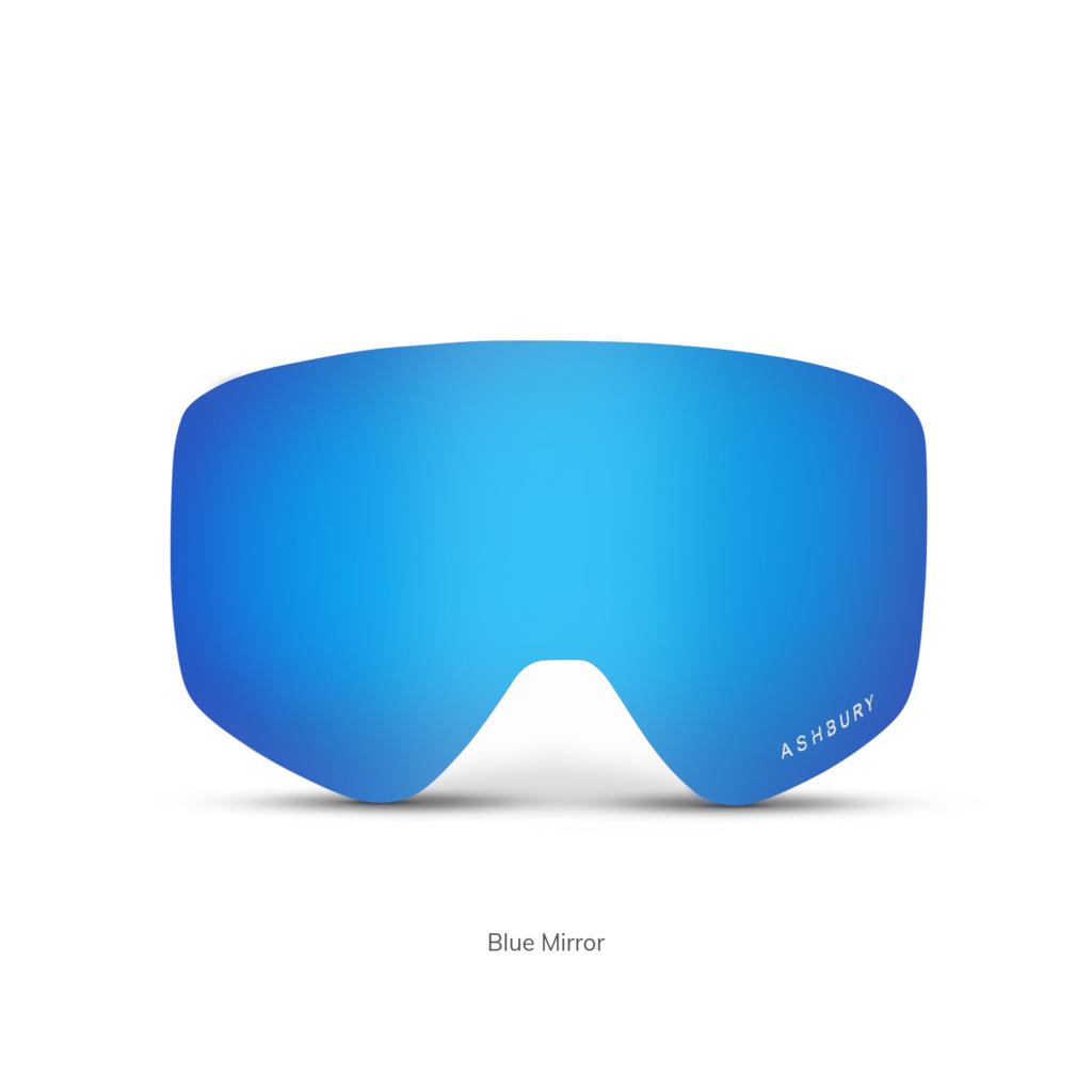 Ashbury Ashbury Spare Lens Sonic Blue Mirror