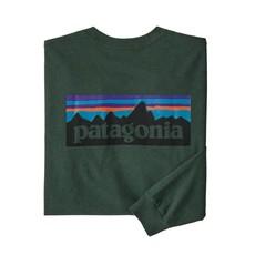 Patagonia Patagonia L/S P-6 Logo Responsibili-Tee Alder Green